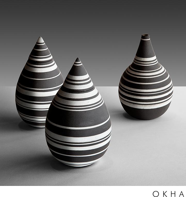 OKHA accessories ceramics Teardrop