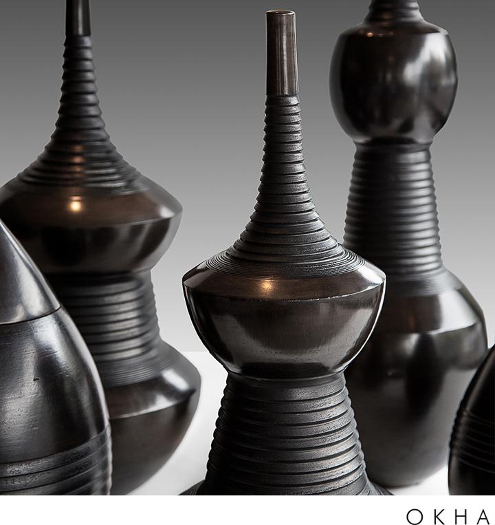 OKHA accessories ceramics Clay Vessels