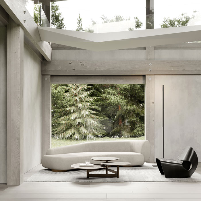 Repose in virtual landscape by Artem Babayants Architects